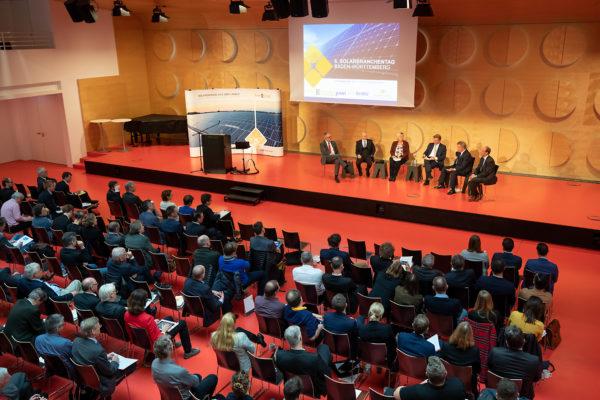 Veranstaltung, Publikum, Solar Cluster
