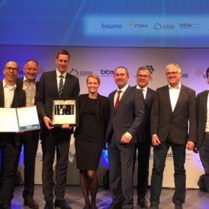 Die Gewinner des bauma Innovationspreises 2019