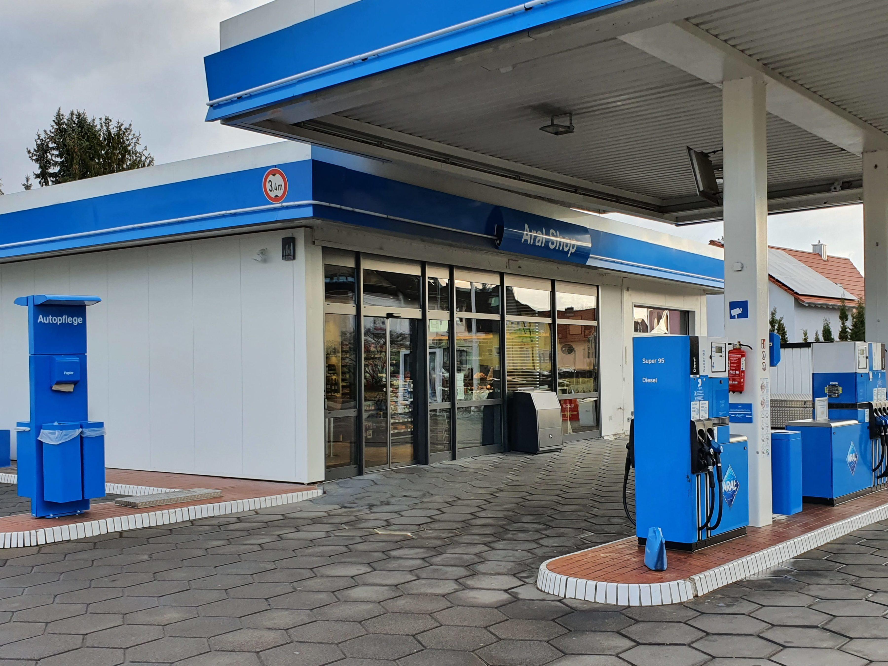 Aral Tankstelle in Lambsheim nach Umbau