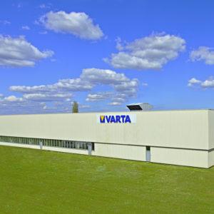 VARTA, Gebäude, Batteriewerk, Nördlingen