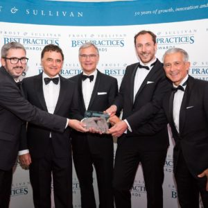 """Product Line Strategy Leadership Award"""