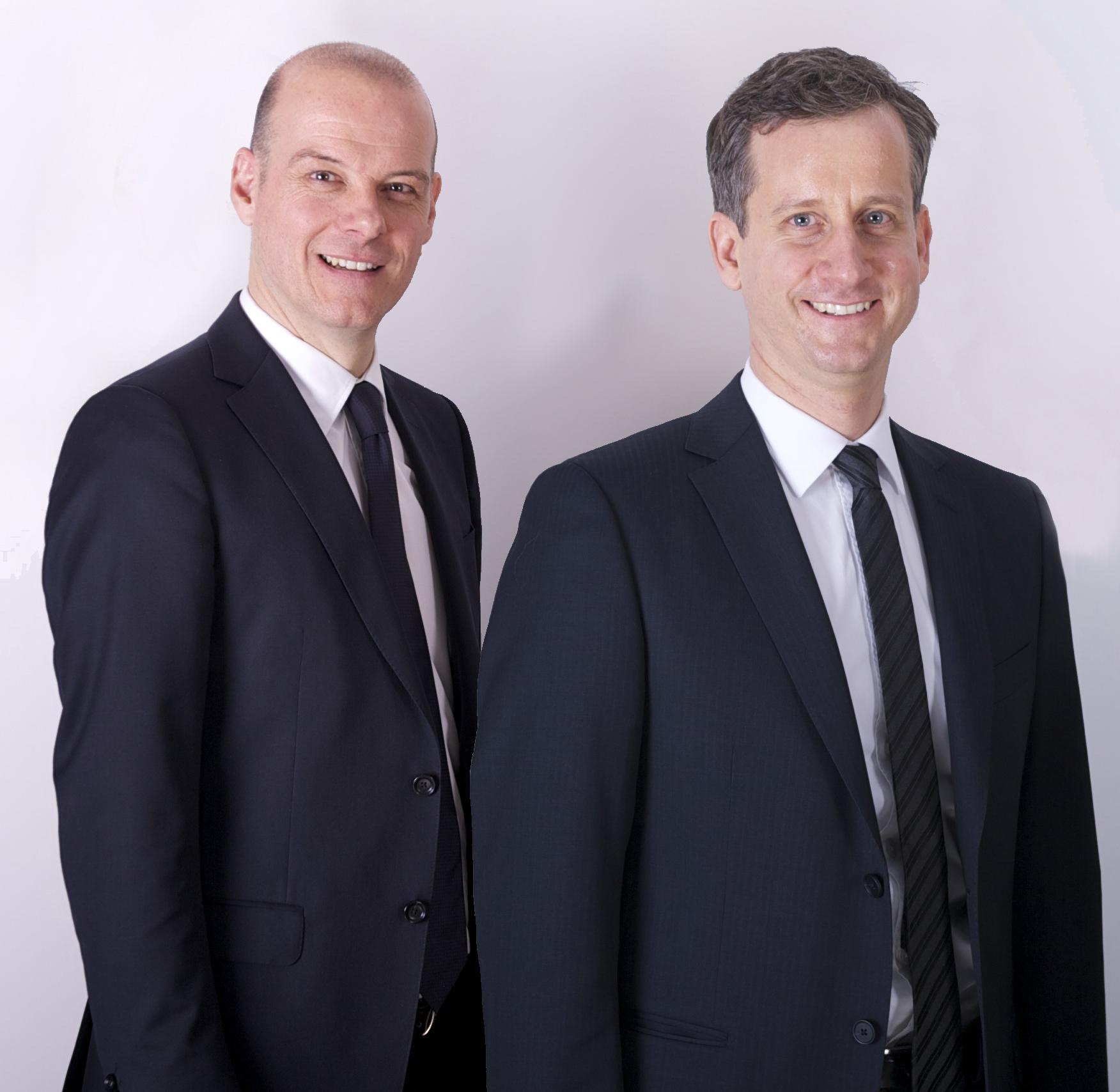 Zu sehen sind die beiden Geschäftsführer der neu gegründeten Präg Energiedienstleistungen GmbH & Co. KG, Klaus-Rüdiger Bischoff und Marc Deisenhofer.