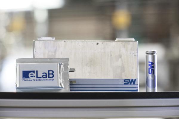 Lithium-Ionen-Batterien-Zellen, ZSW