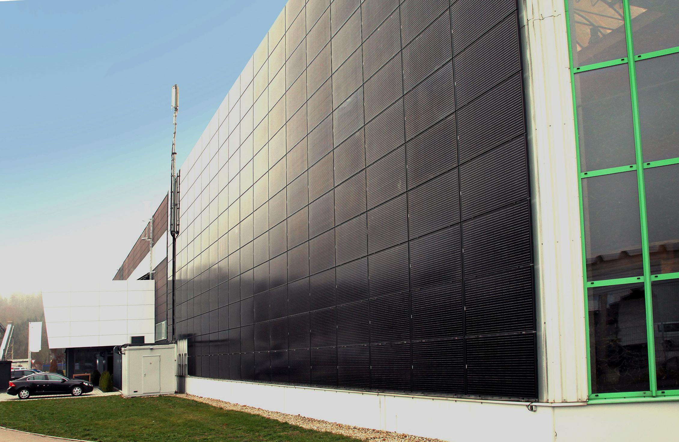 Fassade, Photovoltaik