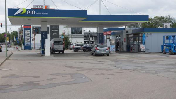 Tankstelle, Präg, Augsburg