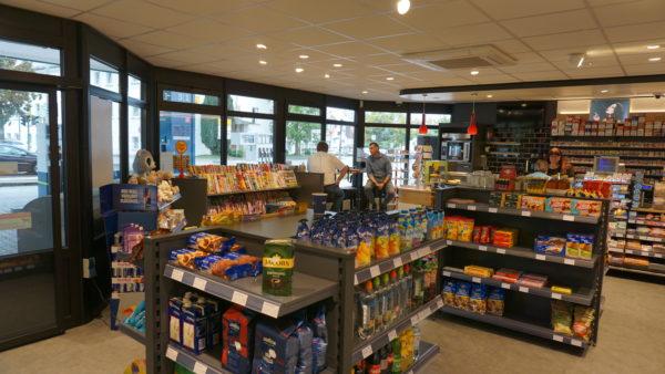 Tankstelle, Shop, Lauingen, Präg