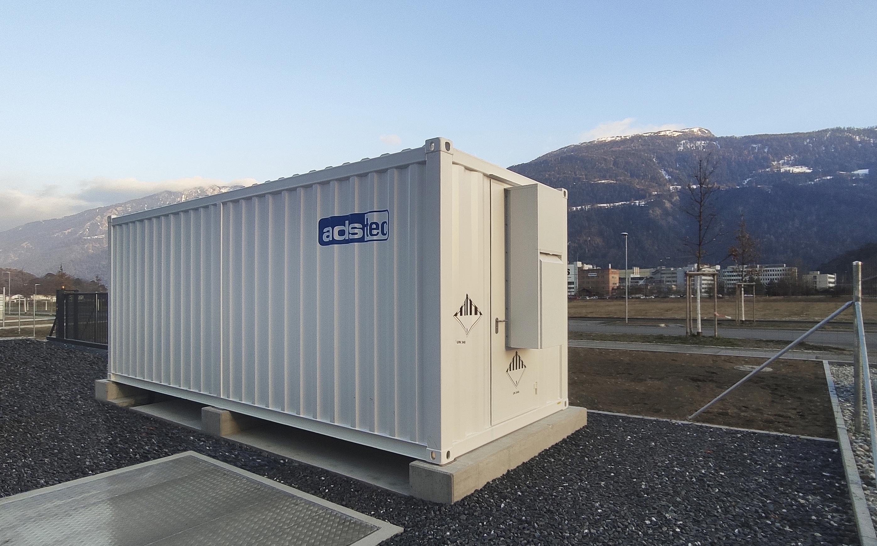 Batterie, Speicher, Container