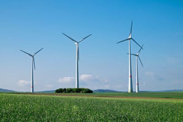 Windräder, Landschaft, Sterr-Kölln